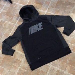 Nike Dri Fit hoodie size kids boys extra large